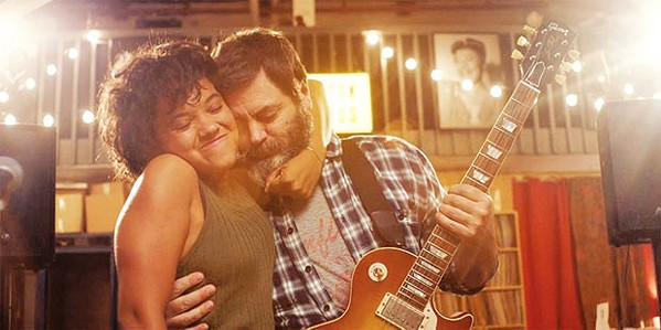 HARMONY In Hearts Beat Loud, a father (Nick Offerman) and his daughter (Kiersey Clemons) form a band the summer before she leaves for college. - PHOTO COURTESY OF GUNPOWDER & SKY