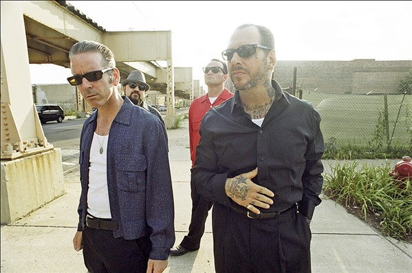 STORY OF MY LIFE Famed cowpunk heroes Social Distortion play the Avila Beach Golf Resort on July 20. - PHOTO COURTESY OF SOCIAL DISTORTION