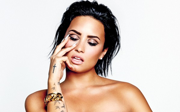 SORRY NOT SORRY Hitmaker Demi Lovato (pictured) and opener Iggy Azalea play the Mid-State Fair on July 22. - PHOTO COURTESY OF DEMI LOVATO