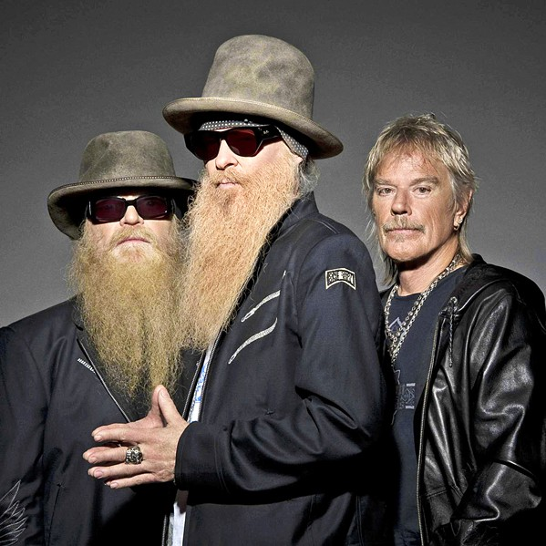 CHEAP SUNGLASSES Hard rockers ZZ Top (pictured) and opener George Thorogood play the Mid-State Fair on July 25. - PHOTO COURTESY OF ZZ TOP