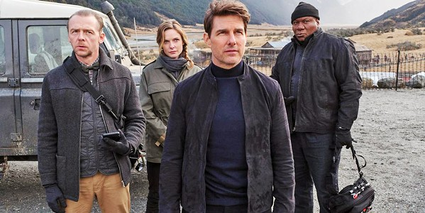 BEST-LAID PLANS In Mission: Impossible-Fallout, Ethan Hunt (Tom Cruise) and his team join forces with a CIA assassin to prevent a disaster of epic proportions. - PHOTO COURTESY OF PARAMOUNT PICTURES