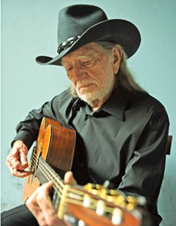 STILL KICKING After some health scares, Willie Nelson (pictured) & Family return to Vina Robles Amphitheatre on Aug. 11, with Alison Krauss & Union Station. - PHOTO COURTESY OF DAVID MCCLISTER
