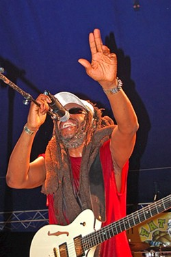 BETTER DREAD Derek Hinds and Steel Pulse plays the Avila Beach Golf Resort on Aug. 17. - PHOTO COURTESY OF STEEL PULSE
