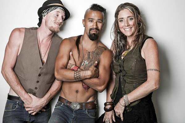 FEELS LIKE SUMMER Alternative world music collective Nahko and Medicine for the People plays the Fremont Theater on Aug. 19. - PHOTO COURTESY OF NAHKO AND MEDICINE FOR THE PEOPLE
