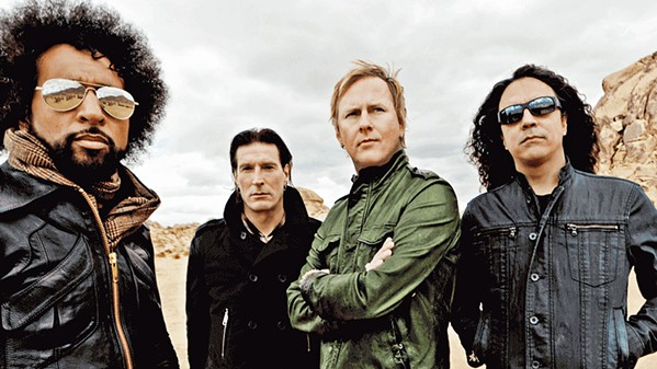 GRUNGE Alt-metal rockers Alice in Chains will shake the Vina Robles Amphitheatre stage on Aug. 28. - PHOTO COURTESY OF ALICE IN CHAINS