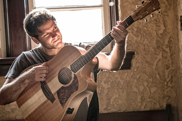 DOWN UNDER Australian guitarist and singer-songwriter Daniel Champagne plays the Morro Bay Wine Seller on Aug. 28. - PHOTO COURTESY OF DANIEL CHAMPAGNE