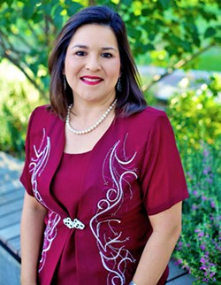BRINGING DIVERSITY TO PASO ROBLES Paso Robles City Council Candidate Maria Garcia is one of four candidates vying for a spot on the council. - PHOTO COURTESY OF MARIA GARCIA