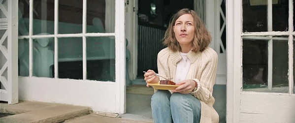 DREAMER Taken-for-granted suburban mom Agnes (Kelly Macdonald) discovers a love for solving jigsaw puzzles, leading to personal fulfillment she couldn't have imagined, in Puzzle, screening exclusively at The Palm. - PHOTO COURTESY OF BIG BEACH FILMS