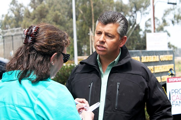 CLEARED SLO County dropped its investigation into former Lt. Gov. Abel Maldonado (pictured) after it received evidence via test results that plants on his ranch are hemp, not unlicensed cannabis. - FILE PHOTO BY AMY ASMAN