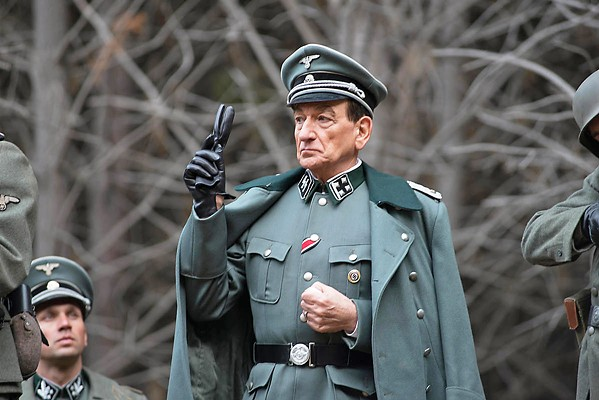 "THE ARCHITECT Adolph Eichmann (Ben Kingsley), the man behind Hitler's ""Final Solution,"" hides in Argentina after the war but finds himself the target of Israeli agents, in the historical drama Operation Finale. - PHOTO COURTESY OF METRO-GOLDWYN-MAYER"