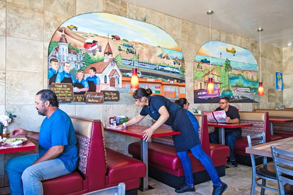 WAY DOWN SOUTH Efren's in Oceano is a cool little restaurant that serves up killer tacos in South SLO County. - PHOTO BY JAYSON MELLOM