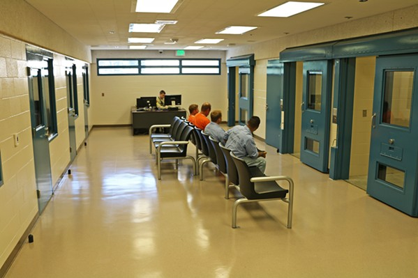 JAIL DEATH The apparent suicide of a SLO County Jail inmate comes as the SLO County Sheriff's Office attempts to expand and improve services for mentally ill jail inmates. - PHOTO COURTESY OF THE SLO COUNTY SHERIFF'S OFFICE