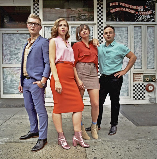 SLY FOXES Lake Street Dive headlines the second day of the Sept. 15 to 16 Whale Rock Music Festival at Castoro Cellars' Whale Rock Vineyard. - PHOTO COURTESY OF LAKE STREET DIVE