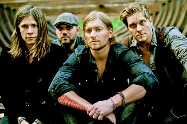 THE GOOD WORD Christian rock act Needtobreathe plays Vina Robles Amphitheatre on Sept. 19. - PHOTO COURTESY OF NEEDTOBREATHE
