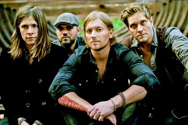 THE GOOD WORD Christian rock act Needtobreathe plays Vina Robles Amphitheatre on Sept. 19. - PHOTO COURTESY OF NEEDTOBREATHE