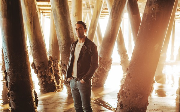 FAMOUS Amos Lee will bring his emotionally charged soul-folk music to the SLO Performing Arts Center on Oct. 1. - PHOTO COURTESY OF BRANTLY GUTIERREZ