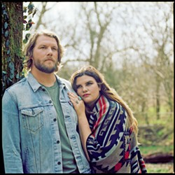 COLONY DAZE Nashville recording artists Carolina Story—featuring Ben and Emily Roberts—headline Atascadero's Colony Days Tent City After Dark on Friday, Oct. 5. - PHOTO COURTESY OF LAURA PARTAIN