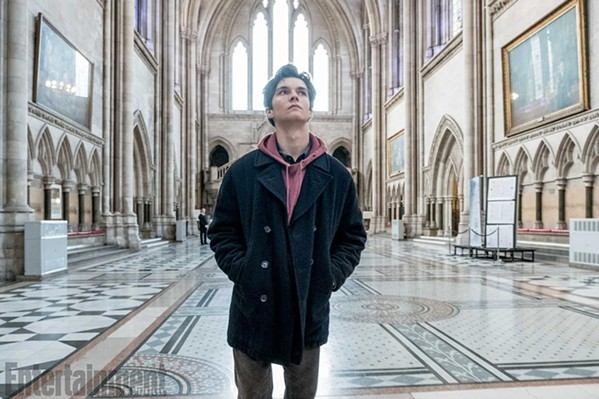 FAITH OVER LIFE Adam Henry (Fionn Whitehead) is a teenage boy who's refusing a life-saving blood transfusion based on his religion, and a judge must decide whether or not to force him, in The Children Act. - PHOTO COURTESY OF BBC FILMS