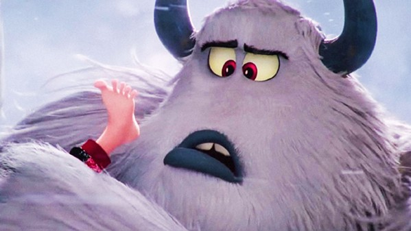 """MYTHICAL CREATURE Migo (voiced by Channing Tatum) is a Yeti who believes the mythical creatures known as """"humans"""" really do exist, in Smallfoot. - PHOTO COURTESY OF WARNER BROS."""