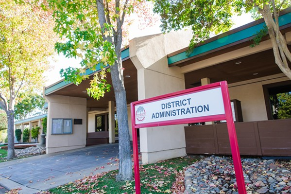 MONEY OVERSIGHT Paso Robles Joint Unified School District is working with the San Luis Obispo County Office of Education to get out of its financial issues. - PHOTO BY JAYSON MELLOM