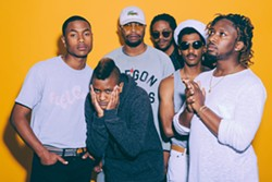 TAP INTO THE HIVE MIND Spend Halloween at the Fremont when soul, R&B, hip-hop, funk, electronic, and trip-hop act The Internet stops as part of its Hive Mind Tour on Oct. 31. - PHOTO COURTESY OF THE INTERNET