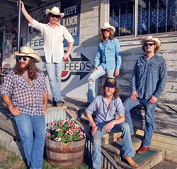 OLD SCHOOL COUNTRY Austin music heroes Mike & The Moonpies play The Siren on Sunday, Oct. 28, bringing traditional country swing. - PHOTO COURTESY OF MIKE AND THE MOONPIE