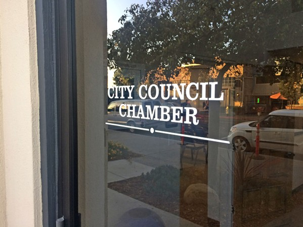 WARNING Arroyo Grande Mayor Jim Hill received a warning letter from the state's Fair Political Practices Commission in connection with past votes he made on the Brisco Road interchange project. - FILE PHOTO BY CHRIS MCGUINNESS