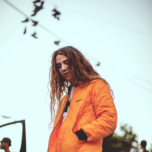 YUNG BLOOD Electronic artist Yung Pinch plays the Fremont Theater on Nov. 1. - PHOTO COURTESY OF YUNG PINCH