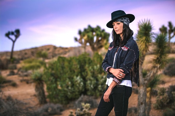 SHE COMES FROM A LAND DOWN UNDER Australian native and R&B artist Kara Grainger and her band play the SLO Blues Society show on Nov. 3, in the SLO Vets Hall. - PHOTO COURTESY OF KARA GRAINGER