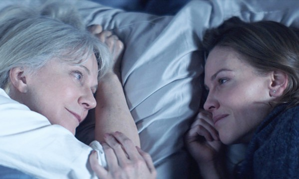 LETTING GO Bridget (Hilary Swank, right) must convince her father to place her Alzheimer's-suffering mother, Ruth (Blythe Danner), in a nursing home, in What They Had. - PHOTO COURTESY OF LOOK TO THE SKY FILMS
