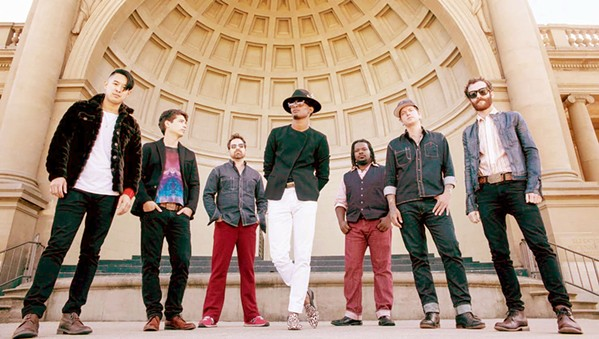 SOUL, MAN Soul, psyche-rock, and R&B act Con Brio plays The Siren on Nov. 14. - PHOTO COURTESY OF CON BRIO