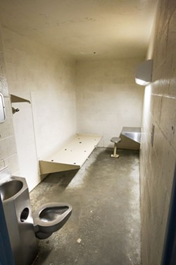 ANOTHER INVESTIGATION The U.S. Department of Justice is investigating mental and medical health care services at the SLO County jail. - FILE PHOTO BY JAYSON MELLOM
