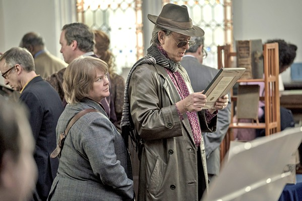 THE PEN IS MIGHTIER Out-of-work celebrity author Lee Israel (Melissa McCarthy, left) turns to forging celebrity letters after her career takes a nosedive, abetted by her close friend Jack Hock (Richard E. Grant), in the biopic Can You Ever Forgive Me? - PHOTO COURTESY OF FOX SEARCHLIGHT PICTURES