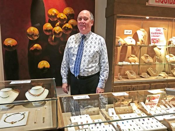 NEW VENTURES Marshalls Jewelers is closing its doors after 129 years of doing business in San Luis Obispo. - PHOTO BY KAREN GARCIA