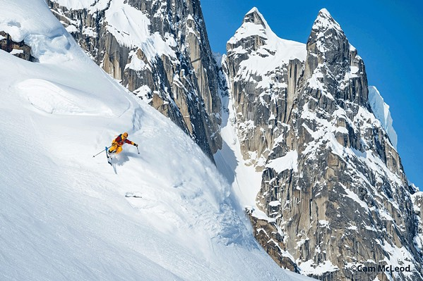 HARD CHARGE World-class winter athletes show their stuff in Warren Miller's Face of Winter, screening Nov. 29 in the Fremont Theater. - PHOTO COURTESY OF WARREN MILLER ENTERTAINMENT