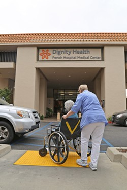 GREEN LIGHT The California Attorney General's Office approved a merger between Dignity Health and Catholic Health Initiatives, but set several conditions on both organizations. - FILE PHOTO BY DYLAN HONEA-BAUMANN