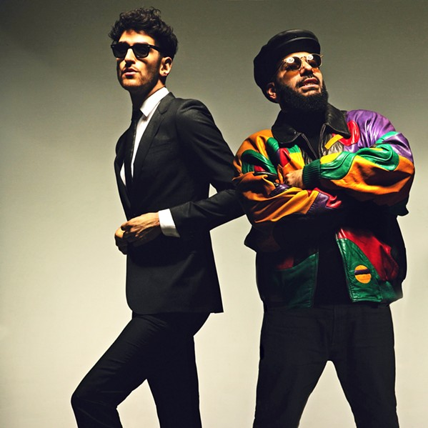 ELECTRO-FUNKSTERS Chromeo plays the SLO Brew Rock Event Center on Nov. 30. - PHOTO COURTESY OF CHROMEO