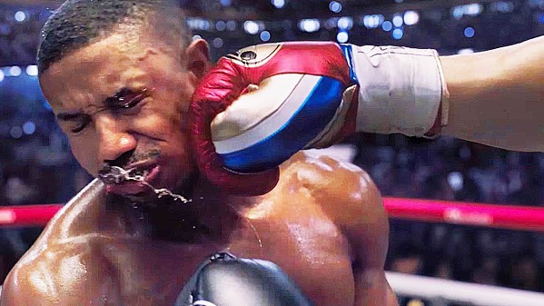 OUCH Boxer Adonis Creed (Michael B. Jordan) must dig deep within himself to overcome his most fierce opponent, in Creed II. - PHOTO COURTESY OF METRO-GOLDWYN-MAYER STUDIOS