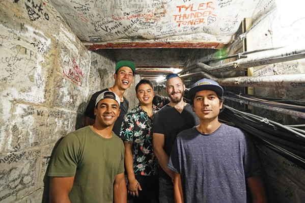 GET IRIE Cali-reggae act Through the Roots plays on Dec. 6 in the SLO Brew Rock Event Center. - PHOTO COURTESY OF THROUGH THE ROOTS
