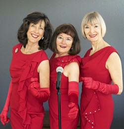 THREE ON THE NICE LIST The In Time Trio! plays three shows this week: Dec. 7 at SLO's First Presbyterian Church; Dec. 9 at D'Anbino Tasting Room; and Dec. 13 at La Bellasera Hotel/Enoteca Restaurant. - PHOTO COURTESY OF THE IN TIME TRIO!