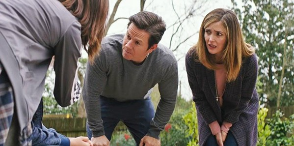SECOND THOUGHTS After adopting three troublesome siblings, Pete (Mark Wahlberg) and Ellie (Rose Byrne) begin to have second thoughts. - PHOTOS COURTESY OF PARAMOUNT PICTURES