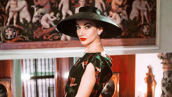 THE VOICE Maria by Callas offers an intimate look at Greek-American opera great Maria Callas as told in her own words, screening exclusively at The Palm. - PHOTO COURTESY OF ELEPHANT DOC