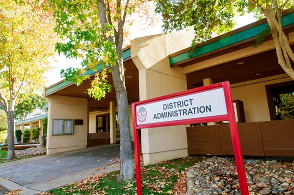 FINANCIAL WOES Teachers from the Paso Robles Joint Unified School District are worried budget cuts will impact their classrooms and jobs. - FILE PHOTO BY JAYSON MELLOM