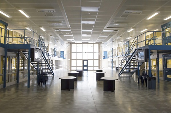 OUTSOURCED Correctional services giant Wellpath received a $6.7 million contract to provide medical and mental health services at the SLO County Jail beginning in February 2019. - FILE PHOTO BY JAYSON MELLOM