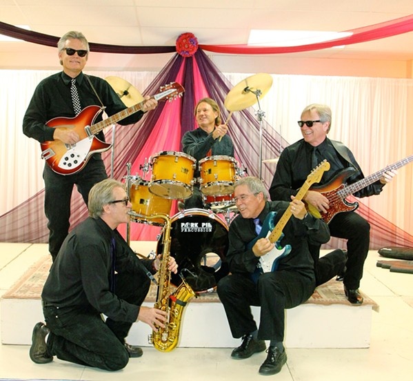 STEP BACK Celebrate with Unfinished Business and a 1960s Rock'n'Soul bash at Embassy Suites on Dec. 31. - PHOTO COURTESY OF UNFINISHED BUSINESS