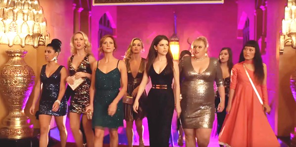 BELLAS OF THE BALL The Barden Bellas return in Pitch Perfect 3, which follows the now-graduated college a capella show choir on a USO tour across Europe. - PHOTO COURTESY OF UNIVERSAL PICTURES