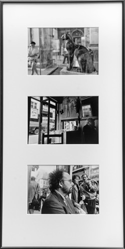 PARIS, THREE WAYS This multiple, Parisian Nexus, by Marta Peluso, is comprised of three different photos shot in Paris that work together as a single piece. - PHOTOS COURTESY OF MARTA PELUSO
