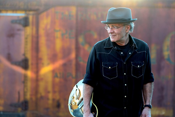 RUMBLE BLUES Blues-folk artist Ray Bonneville plays an intimate concert at Painted Sky Studios on Jan. 15. - PHOTO COURTESY OF RAY BONNEVILLE