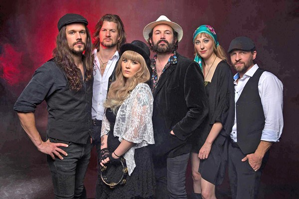 GO YOUR OWN WAY Rumours—The Ultimate Fleetwood Mac Tribute Show appears on Jan. 19 in the Clark Center. - PHOTO COURTESY OF RUMOURS