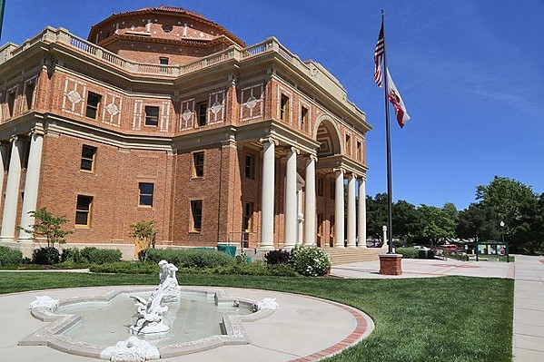 CLOSER TO TRIAL Kyle Bell claims he was questioned by an Atascadero Police Department officer because of his race. A SLO County judge recently ruled that his lawsuit against the department could continue. - FILE PHOTO